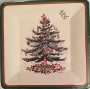 Spode By C.r. Gibson Paper Coated Square Luncheon Plates 18cm X 18cm Package of 8