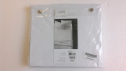 Oake Solid 500 Tc Fitted Sheet, Twin *Solid Silver*