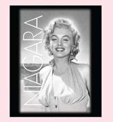 Marilyn Monroe Classic Black and White Queen Size Luxury Royal Plush Blanket - Niagara