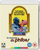 The Abominable Dr. Phibes [Region B] [Blu-ray]