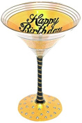 "Young's Inky and Bozko Martini ""Happy Birthday 130cm Glass"