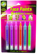 Crafty Dab Face Paint Push-Up Crayons - Brilliant Colours
