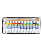 ZTDM Professional 12 Colours 5ml Gouache Painting Pigment Set