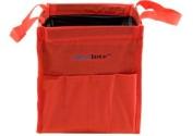 Silver Brush 68010 Nylon Original Aqua Tote Travel Water Bag, Red