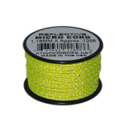 1.18mm Glow in the Dark or Reflective Braided Micro Cord 38m (APPROX.) Spools Various Colours