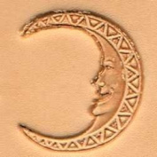 Tandy Leather 3D Moon Face Stamp 88504-00