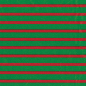 Caspari Bretagne Continuous Gift Wrapping Paper Roll, 2.4m, Red/Green