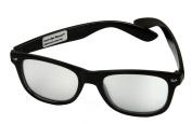 Fireworks Prism Diffraction Black Plastic Glasses - For Laser Shows, Raves - Laser-Eye Glasses