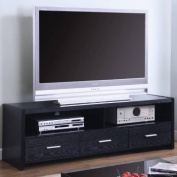 Coaster Furniture 700645 Contemporary Media Console with Shelves and Drawers 700645