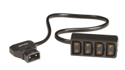 Maxell PC-MF4 4-Way PC Power P-Tap Power Connector