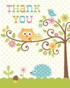 Toy / Game Creative Converting Happi Tree Sweet Baby Thank You Notes, 8 Count - Perfect Supplies For Kids