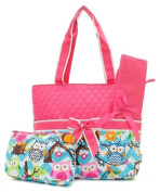 Quilted Owl Chevron Nappy Bag Hp