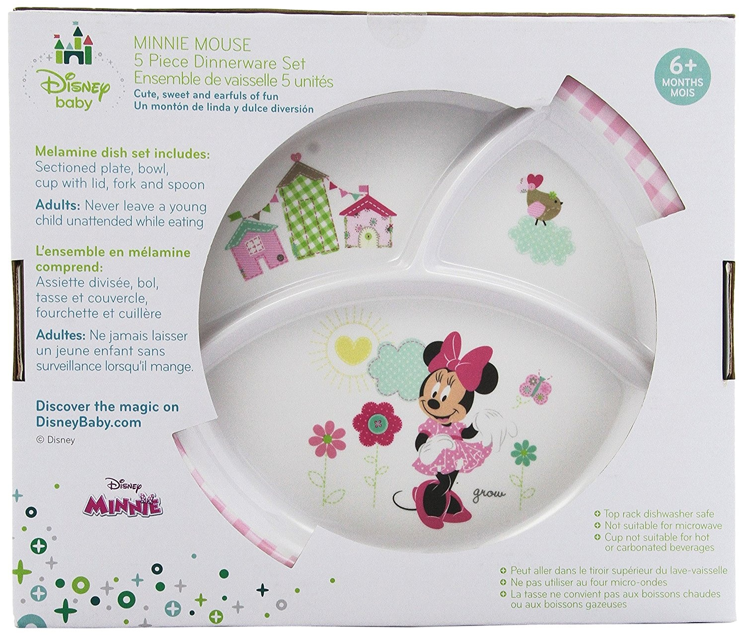 sc 1 st  Fishpond & Minnie Mouse Plate Sets Baby Baby: Buy Online from Fishpond.com.au