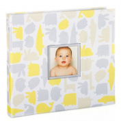 Pearhead Signature Collection Baby Book, Yellow