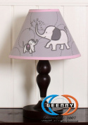 GEENNY Elephant Lamp Shade ONLY without base