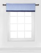 Elephants Blue/Grey Window Valance