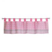 Trend Lab Lily Window Valance, Pink