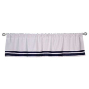 Just Born Window Valance, Navy