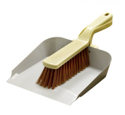 Lily and Brown Metal Dustpan and Brush