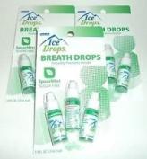 Ice Drops Sugar Free Breath Drops Spearmint 3 Count