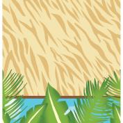 Safari Adventure Plastic Tablecover 140cm x 270cm Jungle Animal Party Supplies
