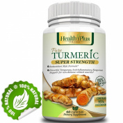Turmeric (Super Strength Curcumin) with 95% Curcuminoids for Maximum Health & Vitality! Strongest & Most Effective, Pure & Natural, No Artificial Ingredients, Best Saffron Alternative, Safe & Easy. Powerful Antioxidants, Full.
