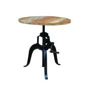 Yosemite Home Decor YFUR-VAIF116 Crank Table, Brown