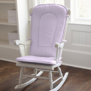 Carousel Designs Solid Lilac Rocking Chair Pad