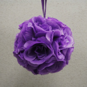 Pomander Flower Balls Wedding Centrepiece, 15cm , Purple