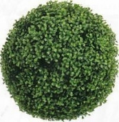 48cm Artificial Boxwood Ball Topiary Plant