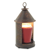 Candle Warmers Etc. Tin Punched Candle Warmer Lantern- Primitive Tin Sunshine