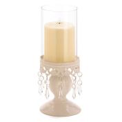 Victorian Hurricane Lantern Candle Holder Centrepiece