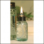 Miniature Mason Jar Oil Lamp