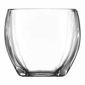 Libbey Tapered Square Votive Holder, 8.4cm Tall, Clear, Set of 12
