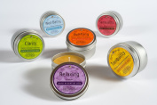 Bluecorn Naturals 100% Pure Beeswax Aromatherapy Travel Tins