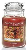 Yankee Candle Large 650ml Jar Candle, Autumn Wreath