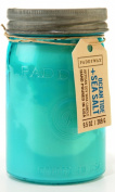 Paddywax Candles Relish Jar Collection Candle, 280ml, Aqua Ocean Tide and Sea Salt