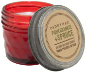 Paddywax Candles Relish Jar Collection Candle, 90ml, Red Pomegranate and Spruce