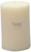 Tag 100075 10cm by 15cm Unscented Long Burning Pillar Candle, Ivory