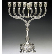 Silver Plated Traditional Menorah