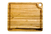 Proteak 12 by 25cm by 1.9cm Rectangle Cutting Board with Corner Hole and Juice Canal