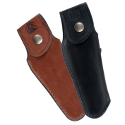 Finest quality leather sheath for Laguiole   Black direct from France
