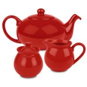 Waechtersbach Fun Factory Tea Set, Red