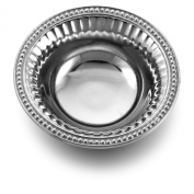 Wilton Armetale Flutes and Pearls Dipping Bowl, Round, 15cm