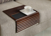 Couchmaid Table Top Solid Wood Sofa Tray/ Lap Desk (Walnut) Hand Crafted Solid Wood