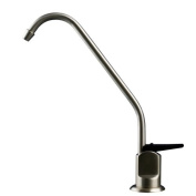 Watts 116101 Standard Faucet with Air Gap, Brushed Nickel