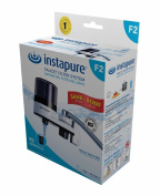 InstaPure F2BWT3P-1ES Faucet Mount Water filter System, White