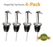 Tablecraft H320C 2 Pack Hinged Flip Top Pourers