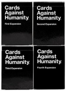 Cards Against Humanity Expansion Sets 1st 2nd 3rd 4th First Second Third Fourth