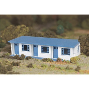 Bachmann Industries Motel Set, White and Blue, O Scale